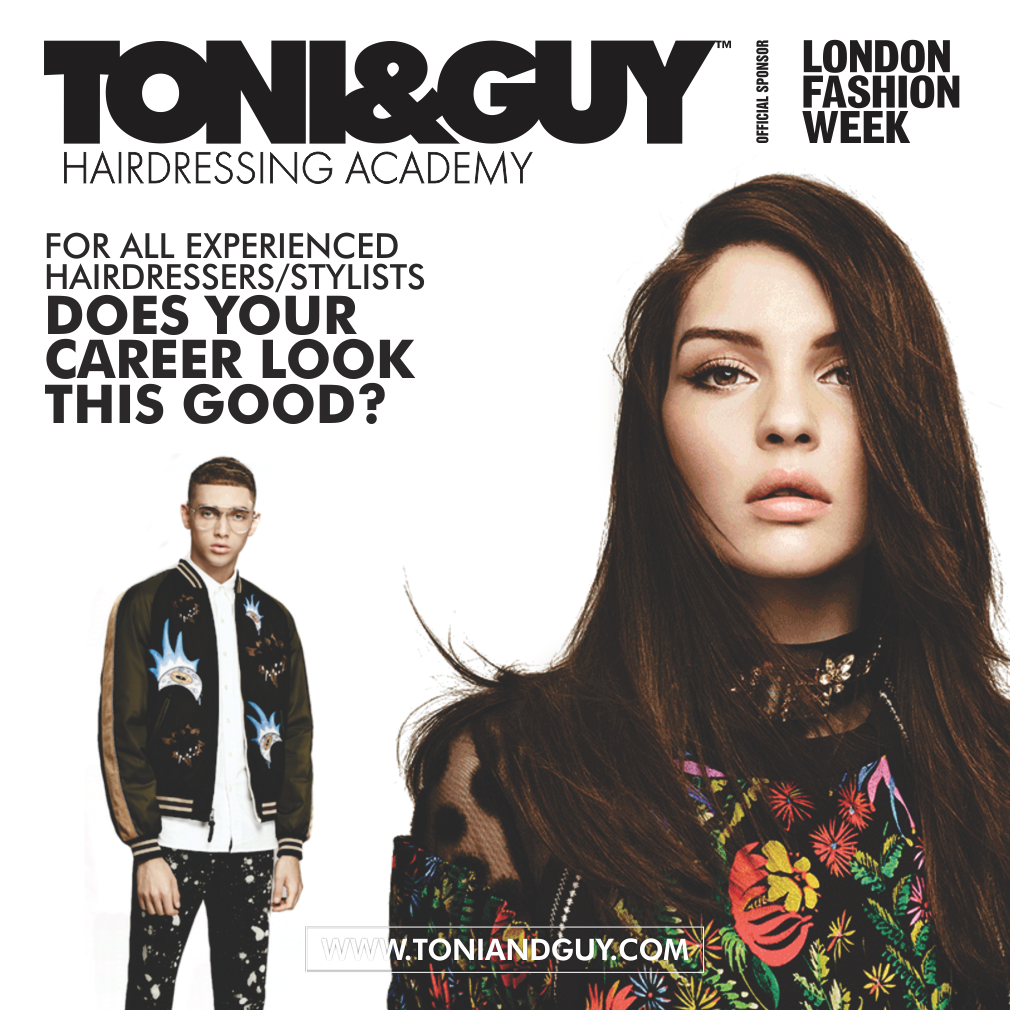 Toni Guy Hairdressing Academy Is Having A 2 Week Masterclass And